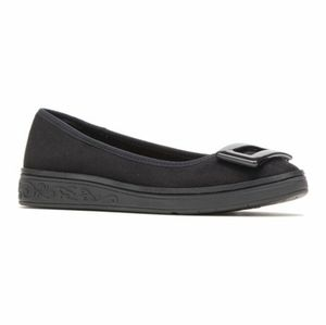 Soft Style By Hush Puppies Paquita Black Flat Wome